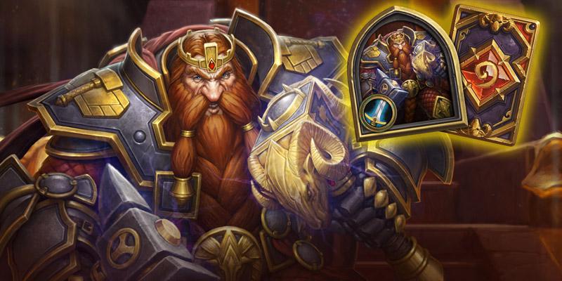 Magni Bronzebeard, Alternate Warrior Hero Skin, Returns to the Hearthstone Shop