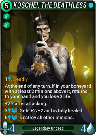 Koschei, the Deathless Card Image