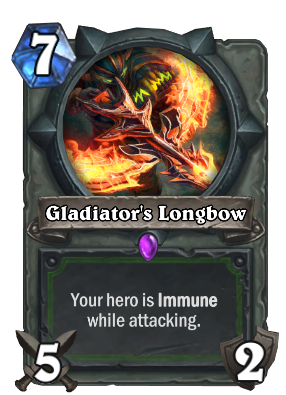 Gladiator's Longbow Card Image