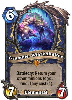 Grumble, Worldshaker Card Image