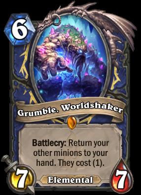 Grumble, Worldshaker Card Image