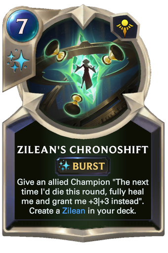 Zilean's Chronoshift Card Image