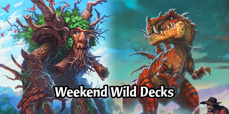 Weekend Wild Hearthstone Decks - Freeze Mage, Anti-Tiller Hunter, Treant Druid, & More