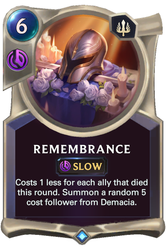 Remembrance Card Image