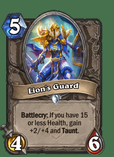 Lion's Guard Card Image