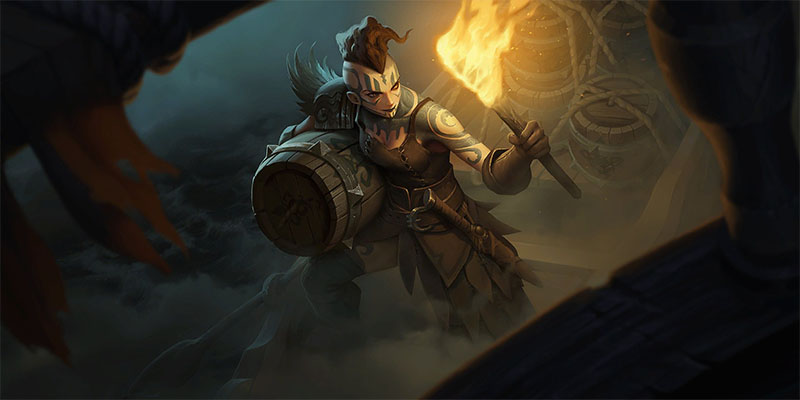 New Teaser for Runeterra's Rising Tides Expansion - Who is the Captain?