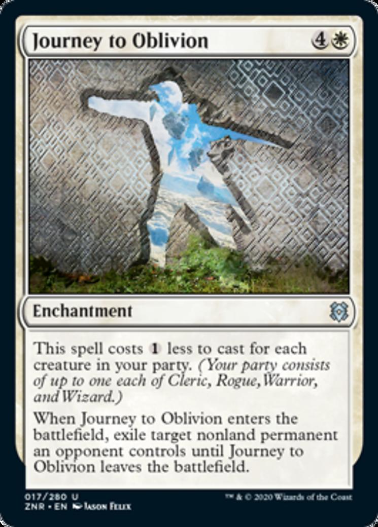 Journey to Oblivion Card Image