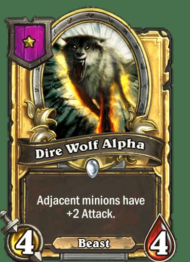 Dire Wolf Alpha Card Image