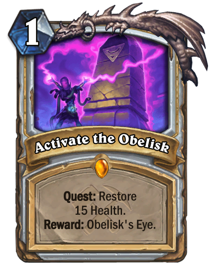 Activate the Obelisk Card Image