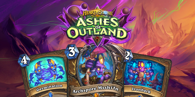 Our Thoughts on Hearthstone's Ashes of Outland Druid Cards