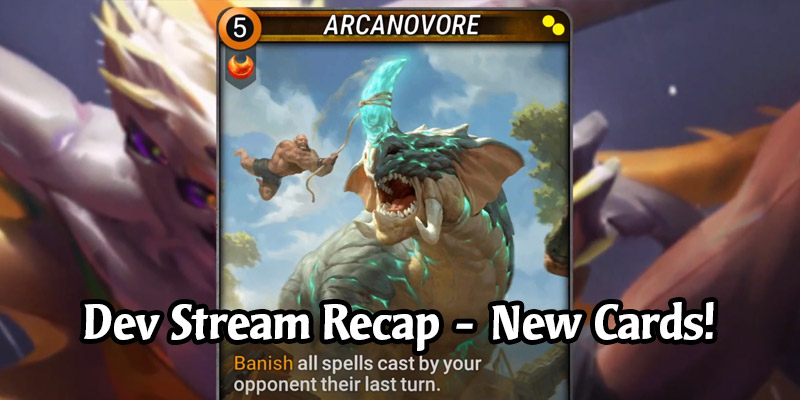 Mythgard Dev Stream Recap - Four Cards from Expansion 2 + Competitive Details