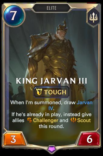King Jarvan III Card Image