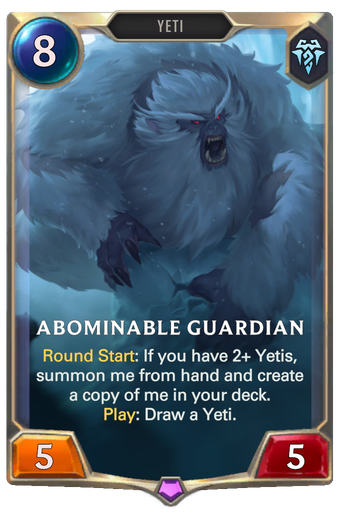Abominable Guardian Card Image