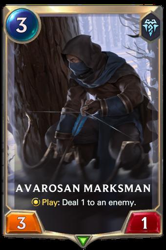 Avarosan Marksman Card Image