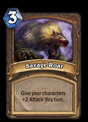Savage Roar Card Image
