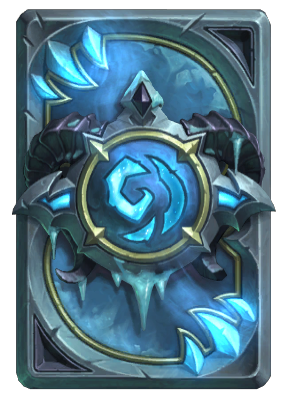 Frostmourne - Hearthstone Card Backs - Card Game Enthusiast