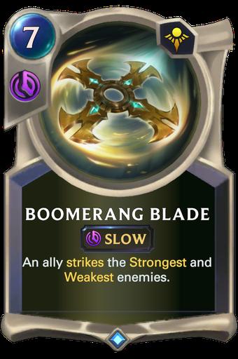Boomerang Blade Card Image