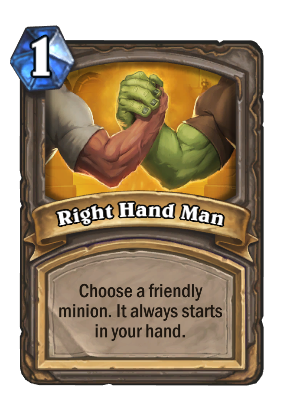 Right Hand Man Card Image