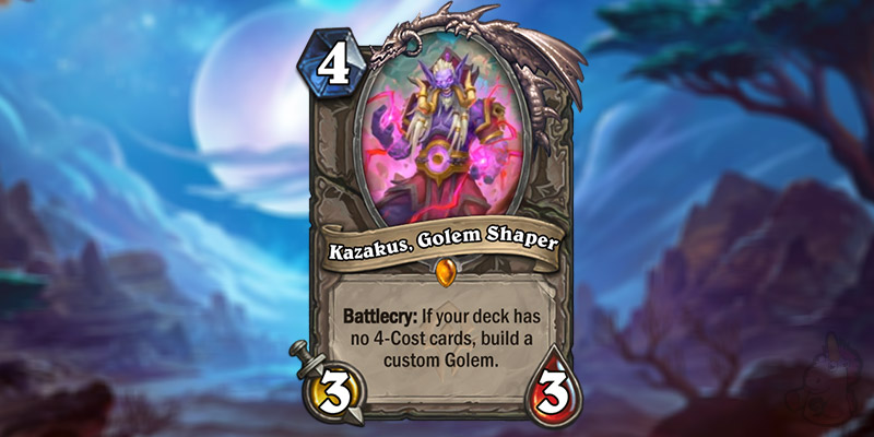 Hearthstone's Forged in the Barrens Card Reveal Season Kickoff - Wronchi Reveals the Returning Kazakus! 2 New Cards