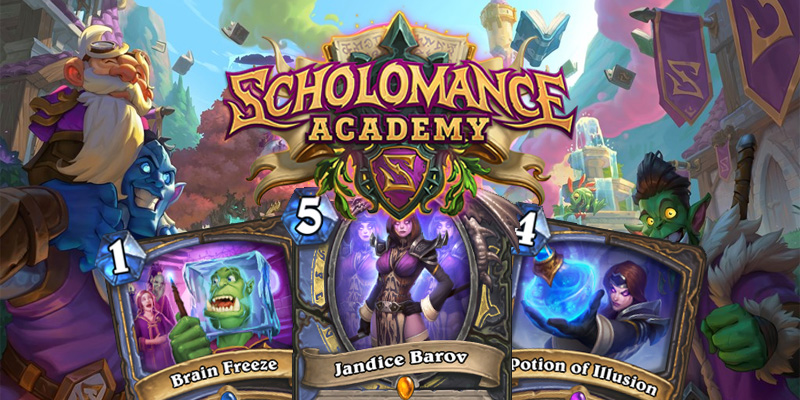 Our Thoughts on Hearthstone's Scholomance Academy Mage/Rogue Dual Class Cards