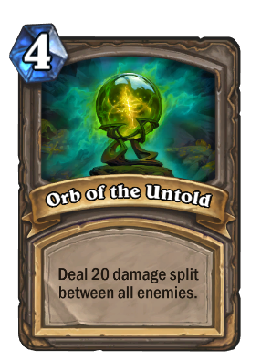 Orb of the Untold Card Image