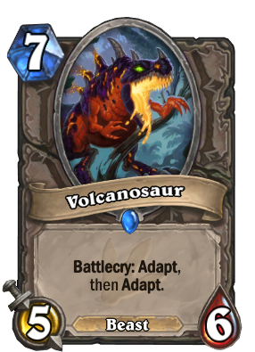 Volcanosaur Card Image