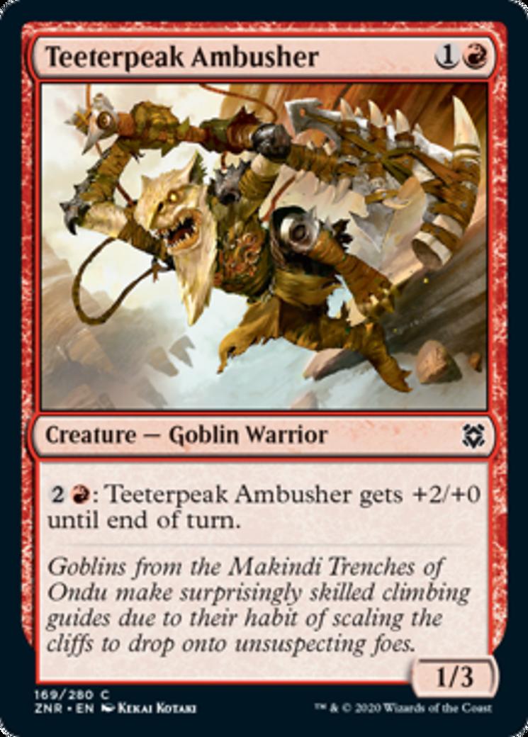 Teeterpeak Ambusher Card Image