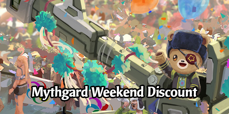 Big Discounts in the Mythgard Shop This Weekend - Core Set Packs 33% Off with Mythril