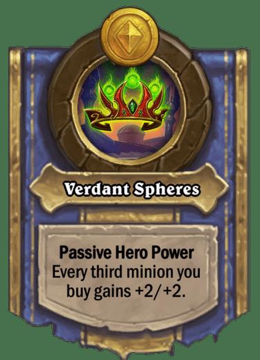 Verdant Spheres Card Image