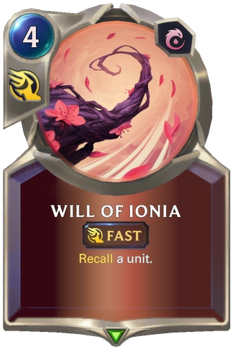 Will of Ionia Card Image
