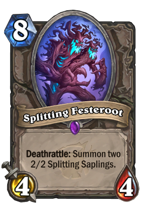 Splitting Festeroot Card Image