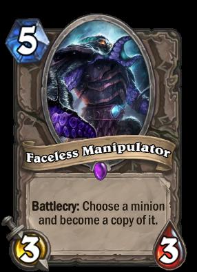 Faceless Manipulator Card Image