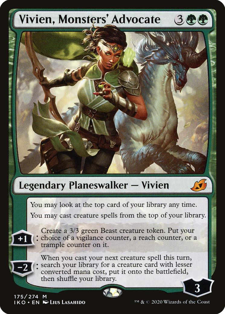Vivien, Monsters' Advocate Card Image