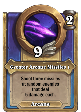 Greater Arcane Missiles 1 Card Image