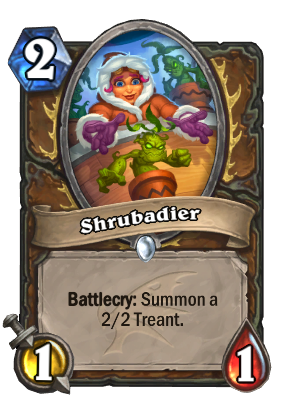 Shrubadier Card Image