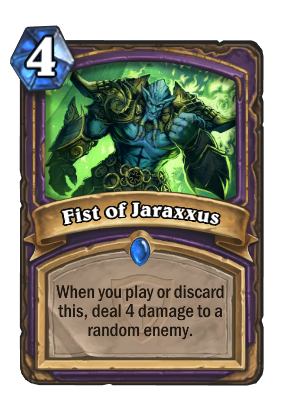 Fist of Jaraxxus Card Image