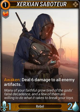 Xerxian Saboteur Card Image