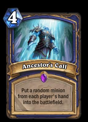 Ancestor's Call Card Image