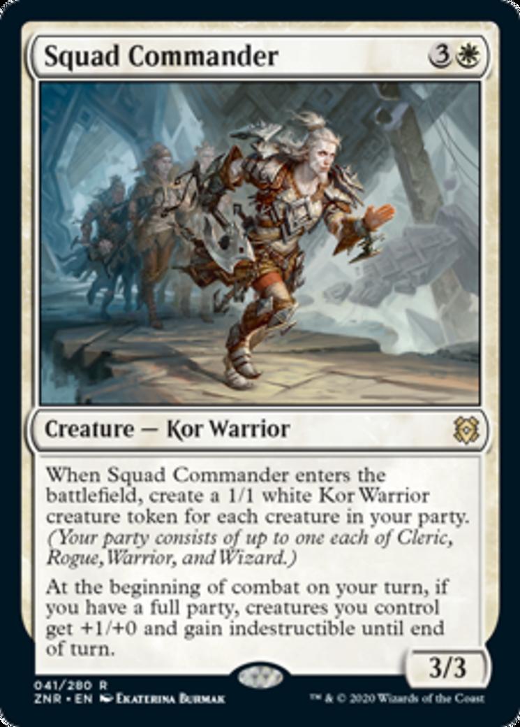 Squad Commander Card Image