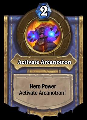 Activate Arcanotron Card Image