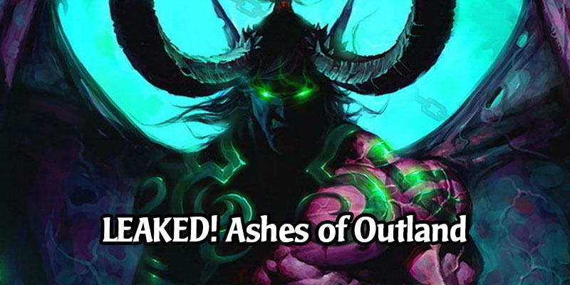 Ashes of Outland is Hearthstone's Next Expansion - New Demon Hunter Class, Priest Getting Overhaul, See the Demon Hunter Cards