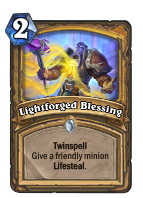 Lightforged Blessing Card Image