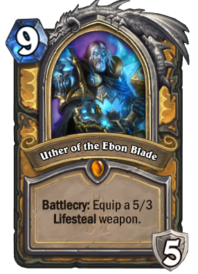 Uther of the Ebon Blade Card Image