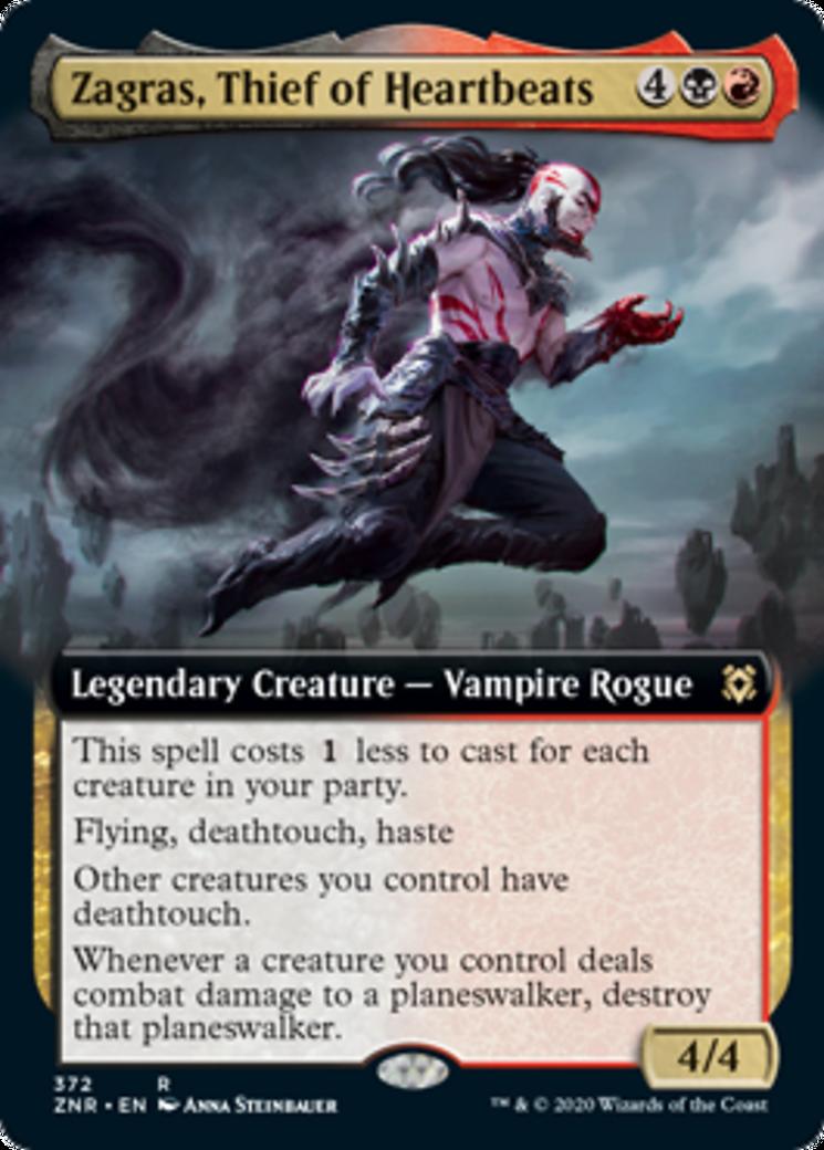 Zagras, Thief of Heartbeats Card Image