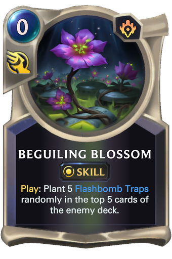Beguiling Blossom Card Image