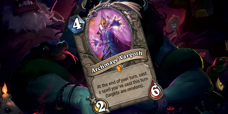 New Legendary Card - Archmage Vargoth