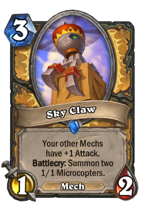 Sky Claw Card Image
