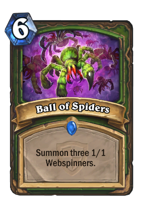 Ball of Spiders Card Image