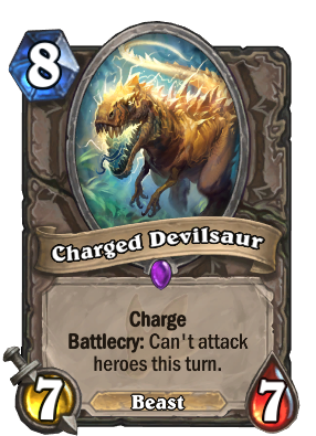 Charged Devilsaur Card Image