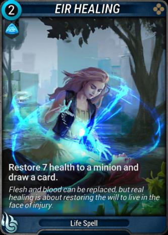 Eir Healing Card Image